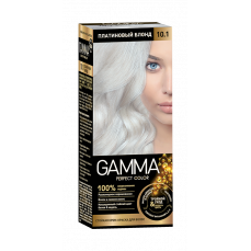 "Краска для волос ""GAMMA Perfect color"" платиновый блонд 10.1"